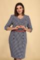Платье Juliet Style Д102 гусиная_лапка