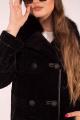 Пальто Мехофф Линия83.12-25 черный