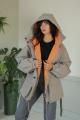 Куртка LadisLine 1373 стальной