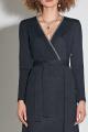 Платье Moveri by Larisa Balunova 5518 меланжевый_тёмно-синий