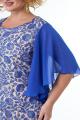 Платье Anelli 347 голубой