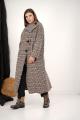Пальто GRATTO 5101 гусиная_лапка