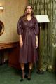 Платье AYZE 2115 марсала