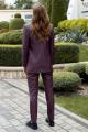 Женский костюм AYZE 2156 марсала