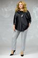 Блуза Angelina & Сompany 591 черный