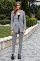 Женский костюм AYZE 2329 серый