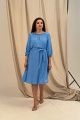 Платье Angelina 690 темно-голубой