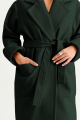 Пальто MUA 34-593-green