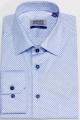 Рубашка Nadex 01-047312/505_170 сине-голубой