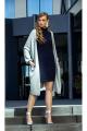 Кардиган, Платье Diva 1339 серый+синий