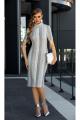 Платье Diva 1350-1 серый
