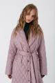 Пальто PiRS 3425 розовый