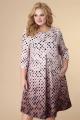 Платье Romanovich Style 1-1708 коричневый_низ