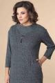 Платье Romanovich Style 1-2216 серый\горох