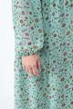 Платье Anelli 1034 бирюза