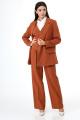 Женский костюм Anelli 970 коричневый