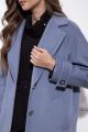 Пальто Nova Line 10206 серо-голубой