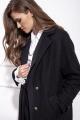 Пальто Nova Line 10206 черный