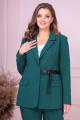Женский костюм Anastasiya Mak 922 зеленый