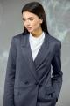 Женский костюм Angelina & Сompany 595 темно-синий_елочка