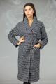 Пальто Angelina & Сompany 605 клетка+черно-белый