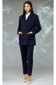 Женский костюм Angelina & Сompany 596 темно-синий_крупная_ячейка