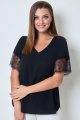 Блуза БелЭкспози 1424 черный