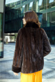 Куртка Мехофф Елена70.202-120 коричневый