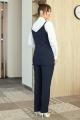 Комплект Мода Юрс 2708 темно-синий_белый