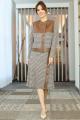 Женский костюм Мода Юрс 2599-1 коричневый