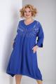 Платье SOVITA M-2133 василек