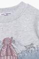 Джемпер Bell Bimbo 212043 серый меланж