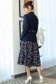 Женский костюм Мода Юрс 2707 темно-синий