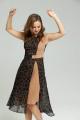 Платье SandyNa 13976 черный_геометрия