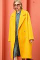 Пальто Lokka 828 желтый
