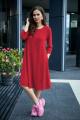 Платье,Шарф Anastasia 495+ шарфик красный