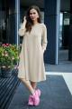 Платье,Шарф Anastasia 495+ шарфик песочный
