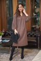 Платье Anastasia 712 шоколад+мраморное_краплени