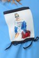 Брюки, Джемпер Anastasiya Mak 951 сине-голубой