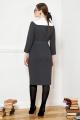 Платье VIZANTI 8029 темно-серый