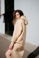 Платье Rawwwr clothing 303-начес бежевый