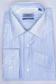 Рубашка Nadex 01-070913/303_170 бело-голубой