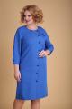 Платье Ксения Стиль 1942 василек
