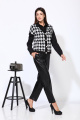 Жилет, Рубашка Karina deLux М-9936Б черно-серый