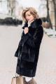 Пальто Мехофф Линия830.12-52 черный