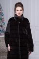 Пальто Мехофф Люкс100.222-121 темно-коричневый