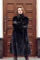 Пальто Мехофф Ромашка110.123-220 черный