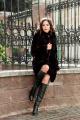 Пальто Мехофф Эмили90.022-521 мокрый_асфальт