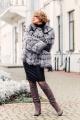 Куртка Мехофф Каролина70.62-06 серебристо-черный