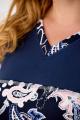 Блуза Anelli 462 синий